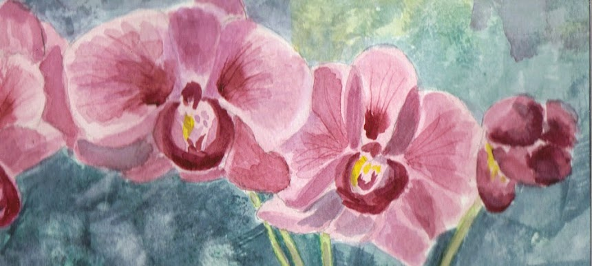 """Birthday Orchid"""