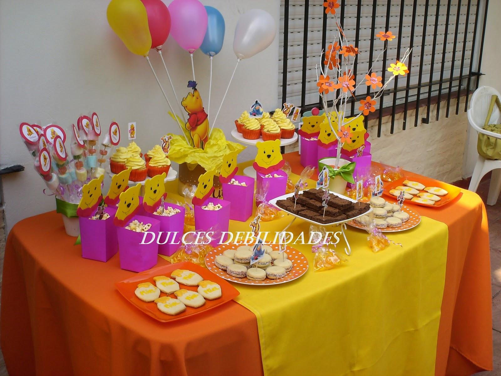 Decoraci n para cumplea os infantiles de winnie the pooh for Decoracion winnie pooh para fiesta infantil