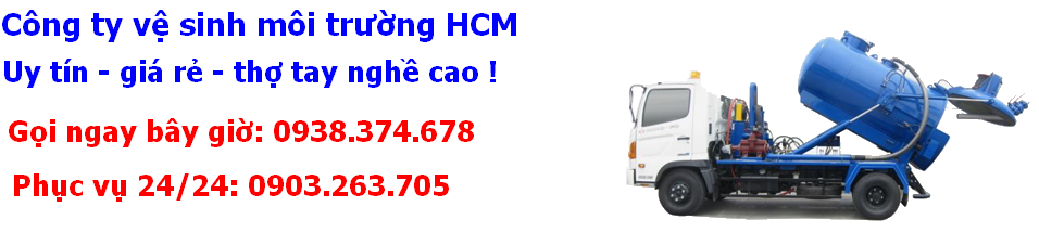 Thông cống nghẹt giá rẻ uy tín tại TP.HCM 0938.374.678