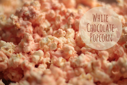 white chocolate popcorn recipe blog