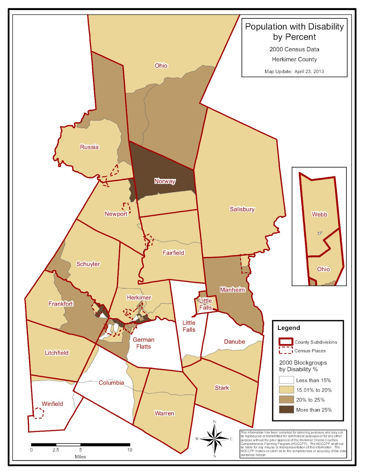 click to enlarge herkimer county disabilities map