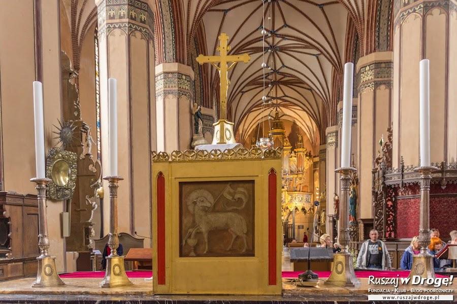 Katedra we Fromborku - nawiązania do Warmii