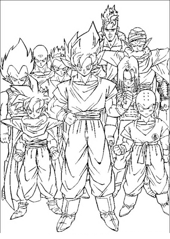 Frieza Dragon Ball Z Kai Coloring Pages. Frieza. Best Free Coloring ...