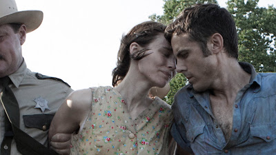 Casey Affleck and Rooney Mara in AIN'T THEM BODIES SAINTS
