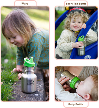 Klean Kanteen kids bottles, sippy & baby bottles
