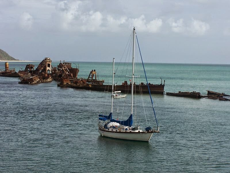 Tangalooma Shipwreck Island of Morton, Australia