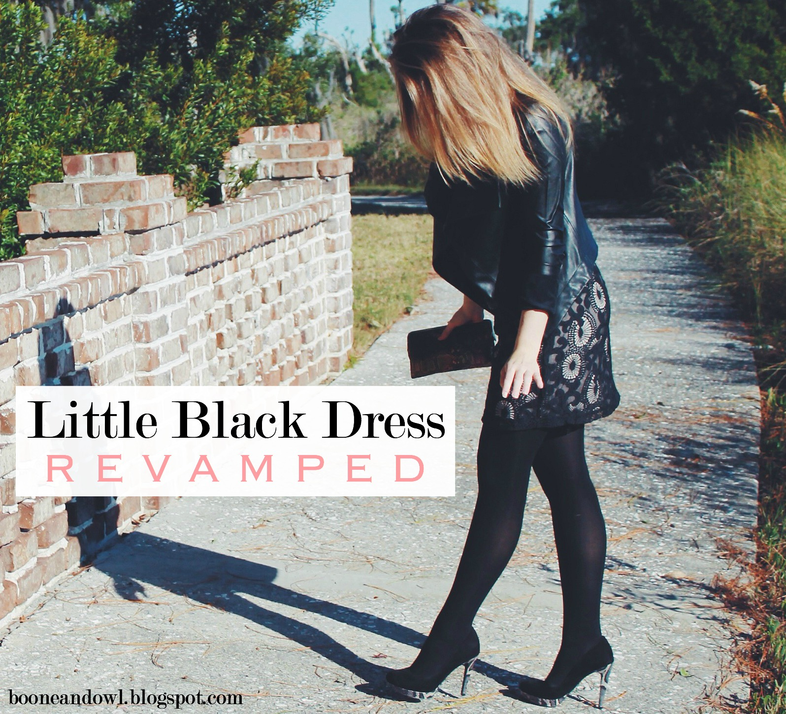 WHAT I WORE: LITTLE BLACK DRESS REVAMPED