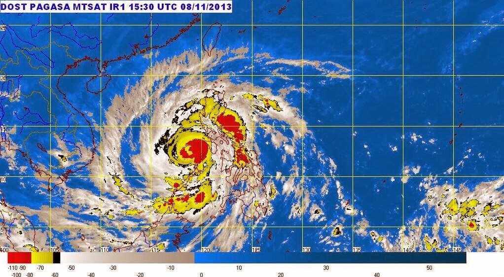 Super Typhoon Yolanda to exit PAR Saturday afternoon - PAGASA Weather