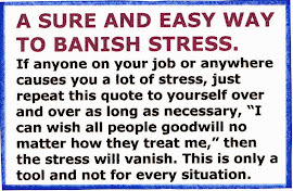 HOW TO BANISH STRESS