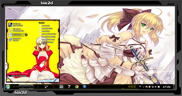 Saber Lily ( WINDOWS 7 ) 2