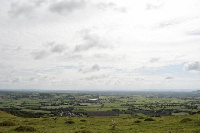 Valley hills fields english countryside cute quaint