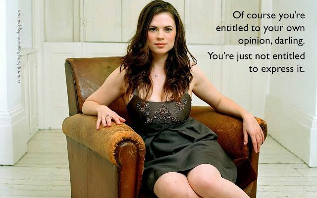 Opinionated husbands forbidden