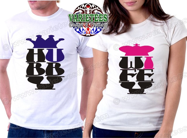 Hubby-Wifey Couple Shirts Philippines