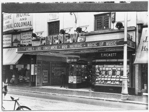 Who remembers the old CINENEWS theatre in Commercial Road?