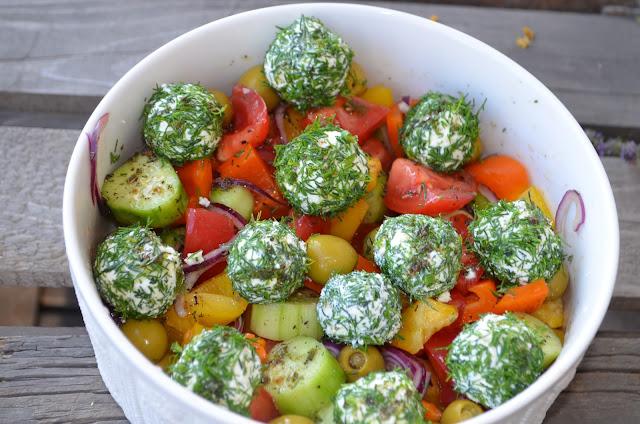 грецький салат фото