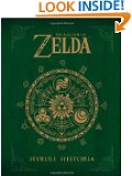 The Legend of Zelda: Hyrule Historia by Shigeru Miyamoto book cover