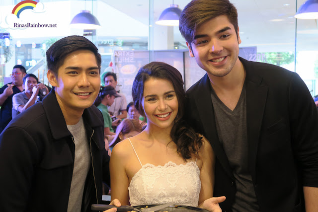 Robi Domingo, Yassi Pressman, and Andre Paras