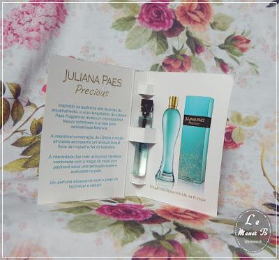 Fragrância Precious Juliana Paes