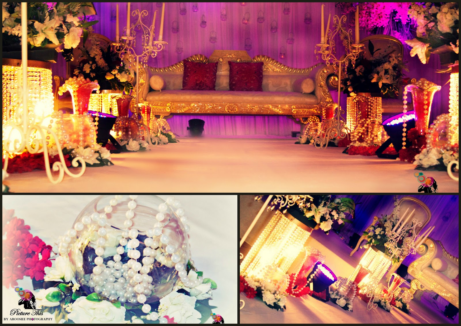 picture this by aroosiee photography wedding stage