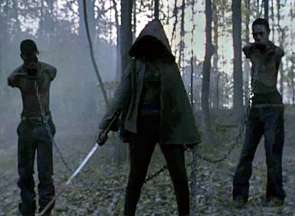Las mascotas de Michonne The Walking Dead Tropa Friki