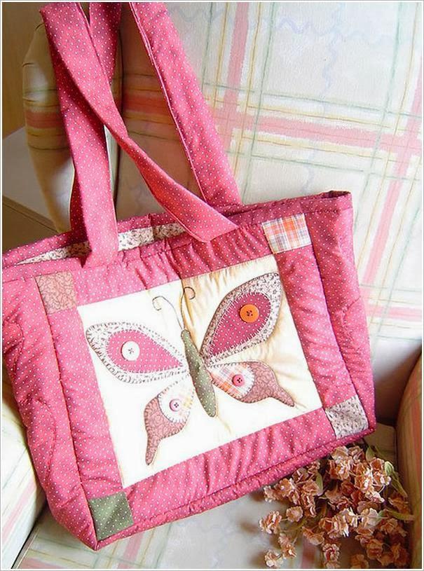 Сумки печворк из лоскутков.  Patchwork Bags
