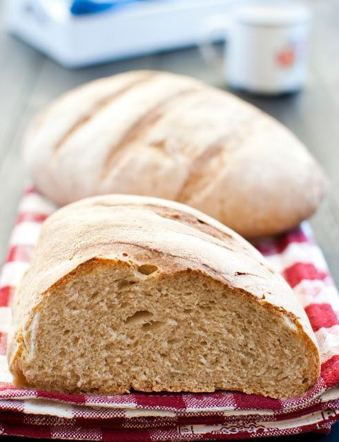 pane rustico semi integrale con segale e farina di riso