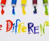 Ser diferente no es un defecto, es una virtud.