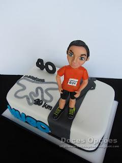 bolo aniversário maratona