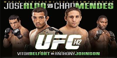 Assistir ao vivo UFC 142 - Rio - Gratis
