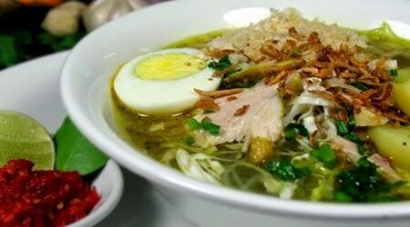 resep dan cara membuat soto ayam enak asli khas lamongan
