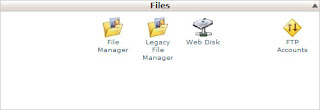 cPanel Applications for Uploading Files