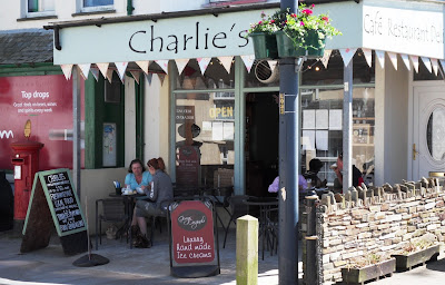 Charlie's deli Tintagel Cornwall