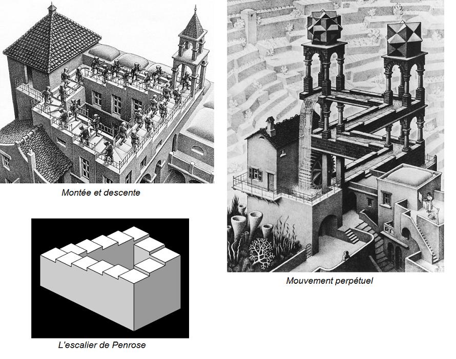 escher et les sciences l 39 obsession de l 39 infini sweet random science. Black Bedroom Furniture Sets. Home Design Ideas