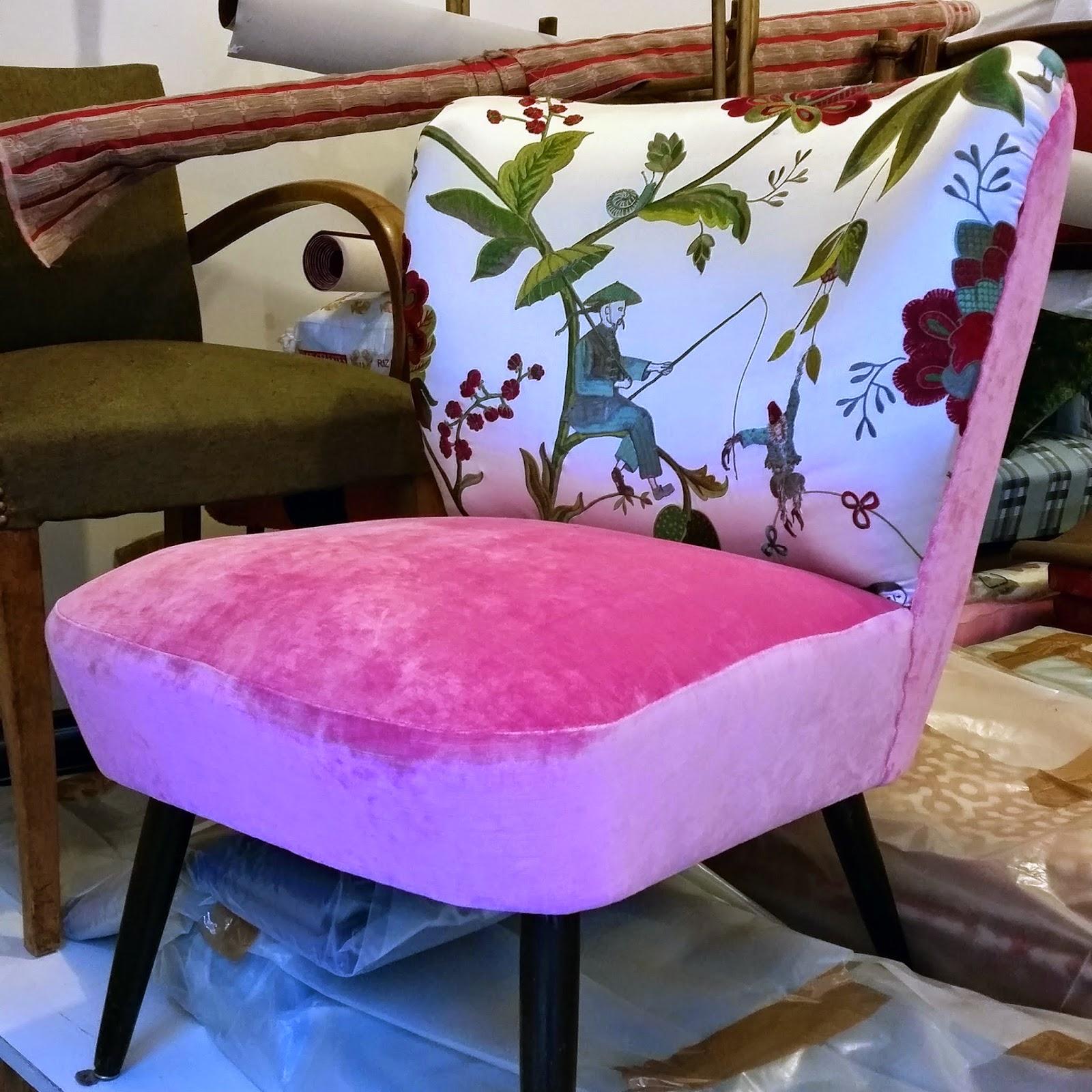 avant apr s chauffeuse cocktail atelier velvet artisan tapissier paris 10e. Black Bedroom Furniture Sets. Home Design Ideas
