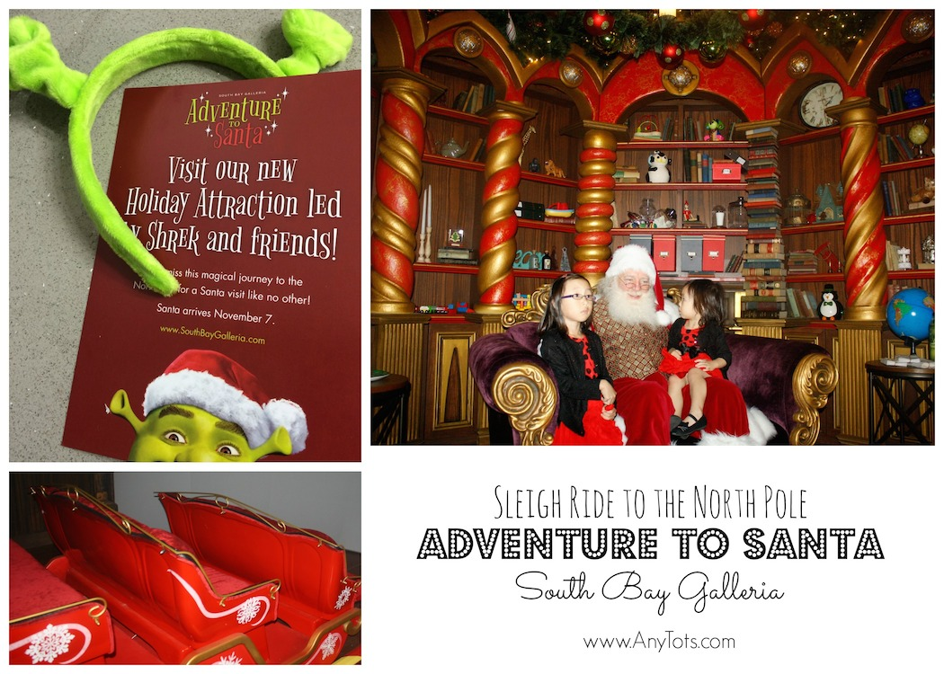 Experience Adventure to Santa at South Bay Galleria and Victoria ...