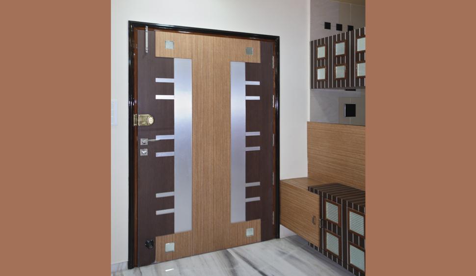 Sudarsan plylam fevicol designs for Door design in mica