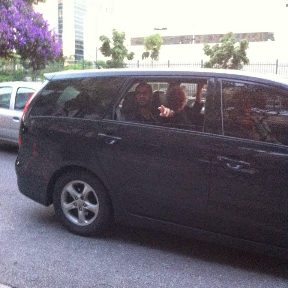 O dia que conheci Ringo Starr, preso no trânsito de São Paulo