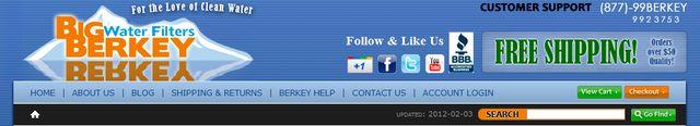 Water Filters from BigBerkeyWaterFilters.com