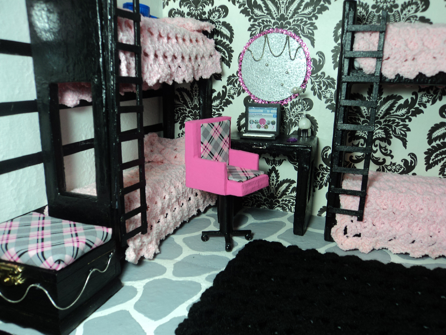 how to make doll furniture. How To Make A Doll Bunk Bed With Cardboard \u0026 Paper Mache Furniture