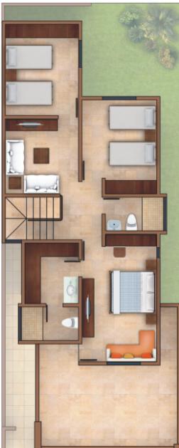 Planos de casas y plantas arquitect nicas de casas y for Casa de dos plantas construyehogar