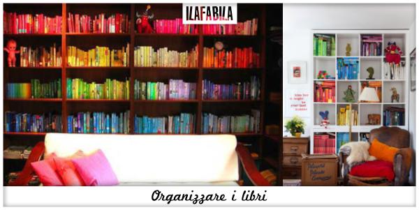 Organizzare i Libri - Per colore
