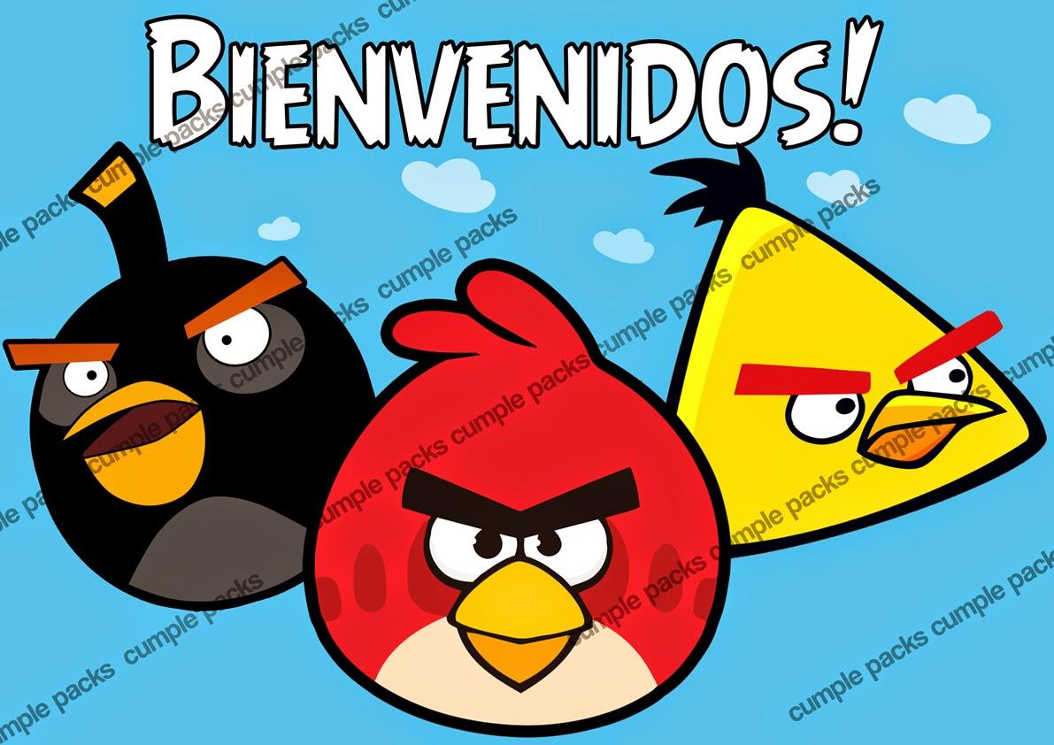 birds tarjetita sticker topiarios banderín y cartel de bienvenida de