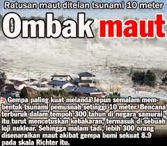 tsunami jepun