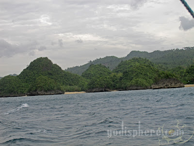 Punta Ballo hidden beaches and Coves Sipalay Negros Occidental