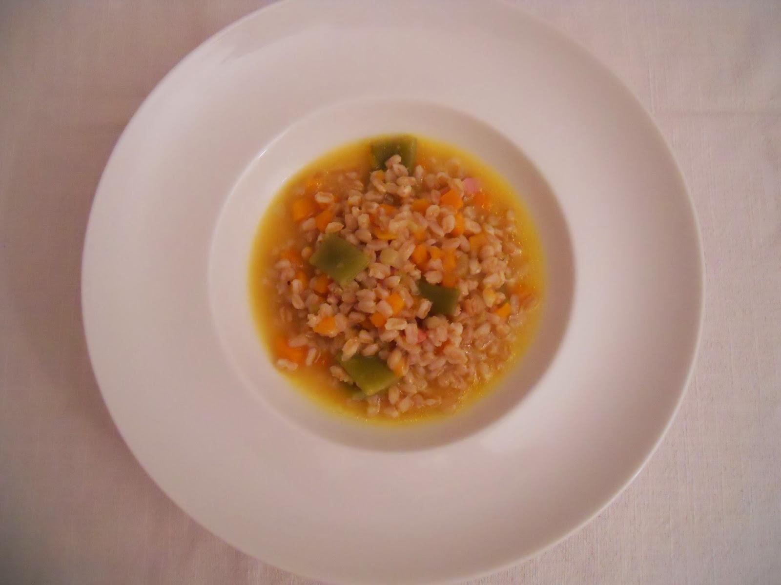 La cuisine italienne autentique soupe d 39 peautre for Apprendre la cuisine italienne