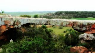 A Ponte de Pedra, no Interior de Alegrete