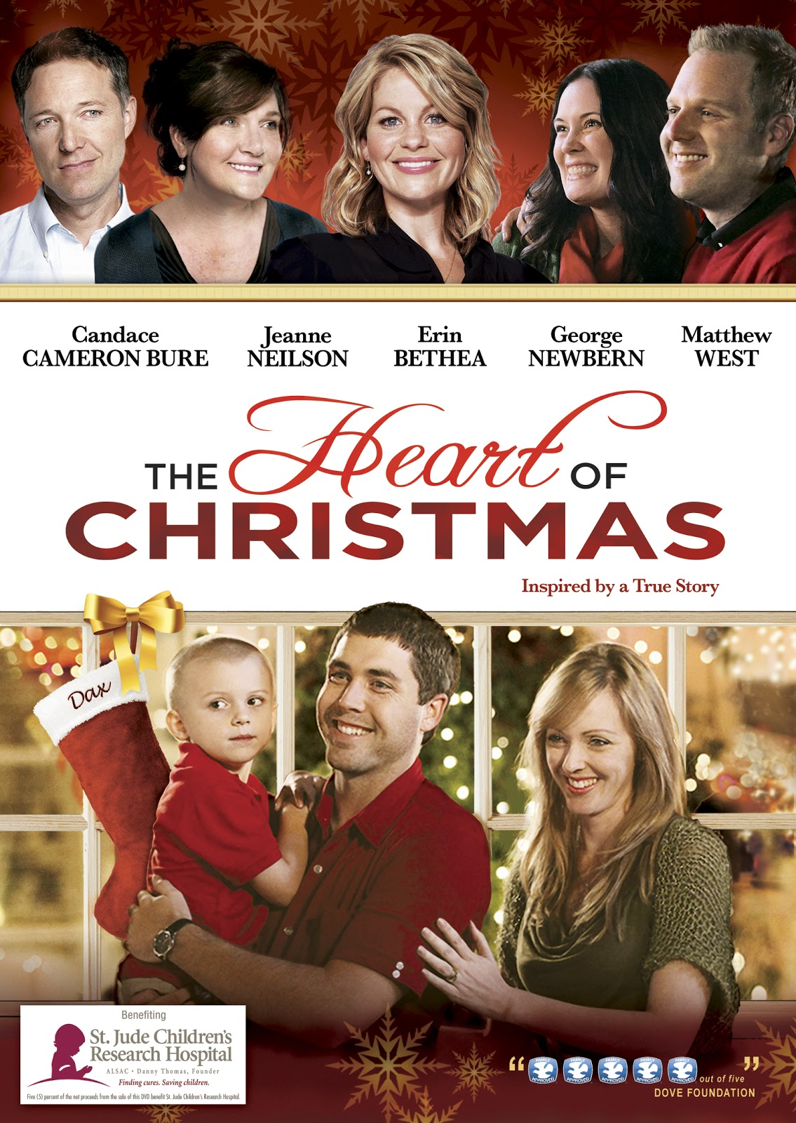 The Green Eyed Momma: {Giveaway Closed} The Heart Of Christmas on DVD