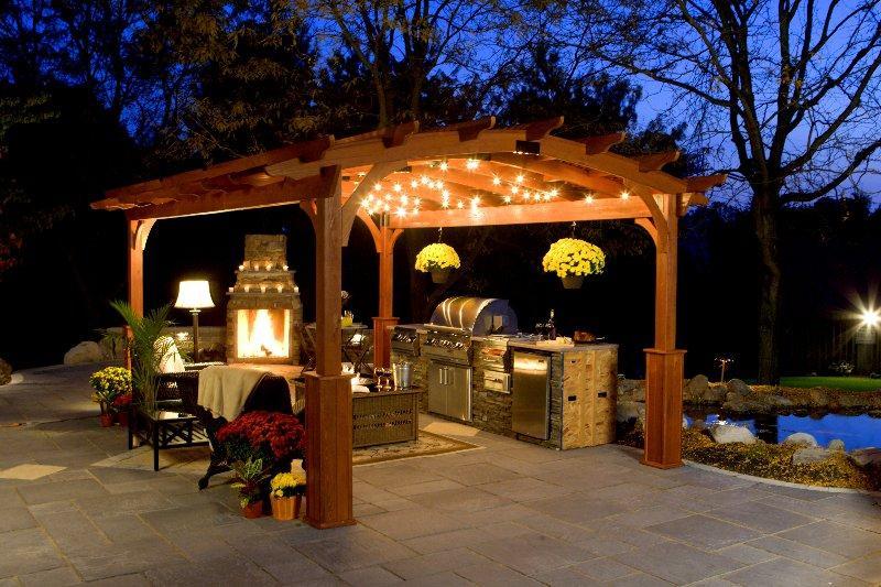 Gallart grupo el blog suelos y puertas de madera en - Luces para patios ...