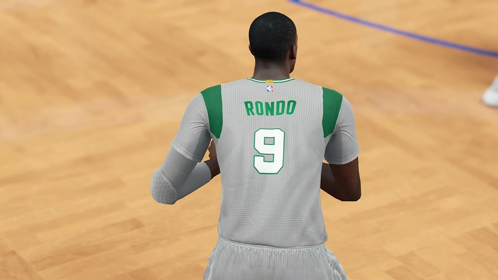 Boston Celtics Pride Sleeve Jersey | NBA 2K15