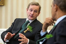 Irish PM Kenny Visits POTUS...